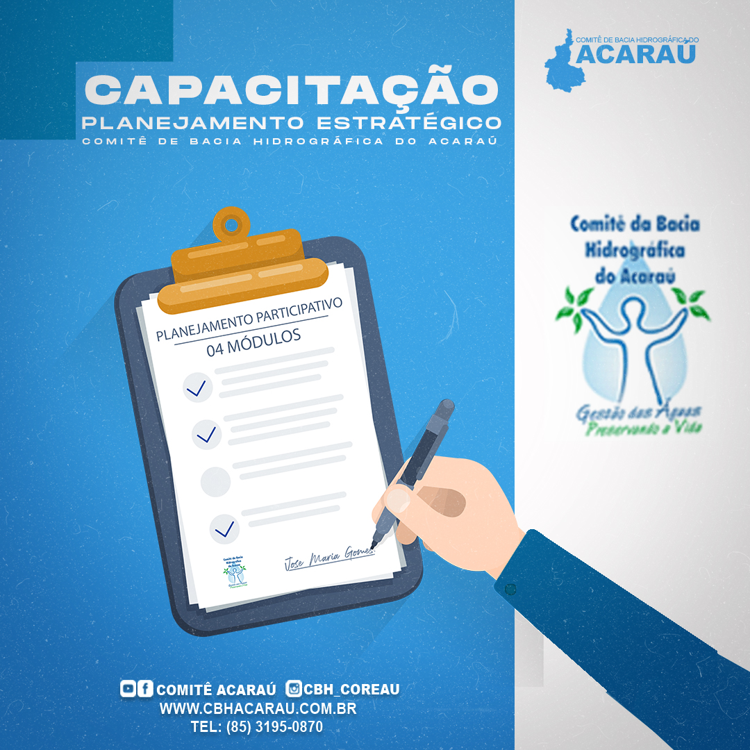 CBH Acaraú aprova capacitação de planejamento estratégico