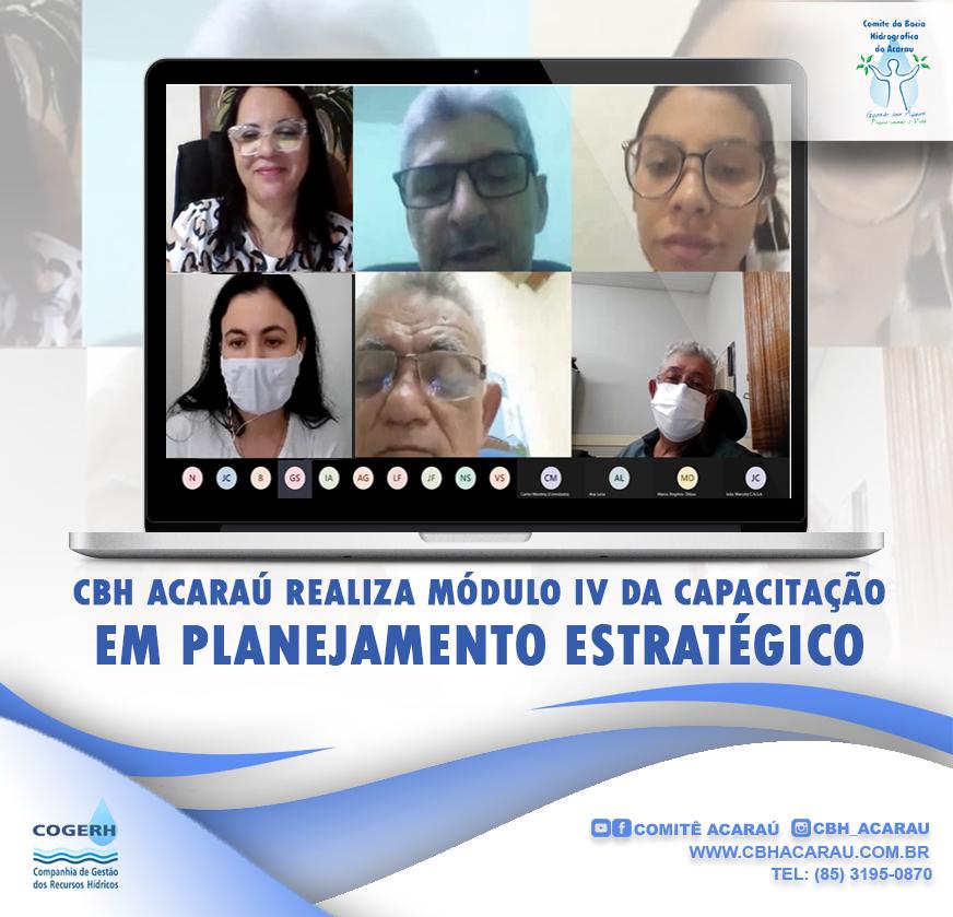 CBH Acaraú realiza quarto e último módulo da capacitação em planejamento estratégico